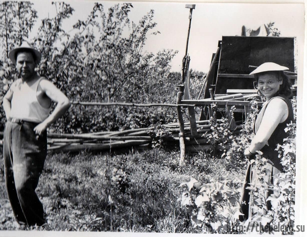 Садоводы СНТ Мичуринец. 1963 год
