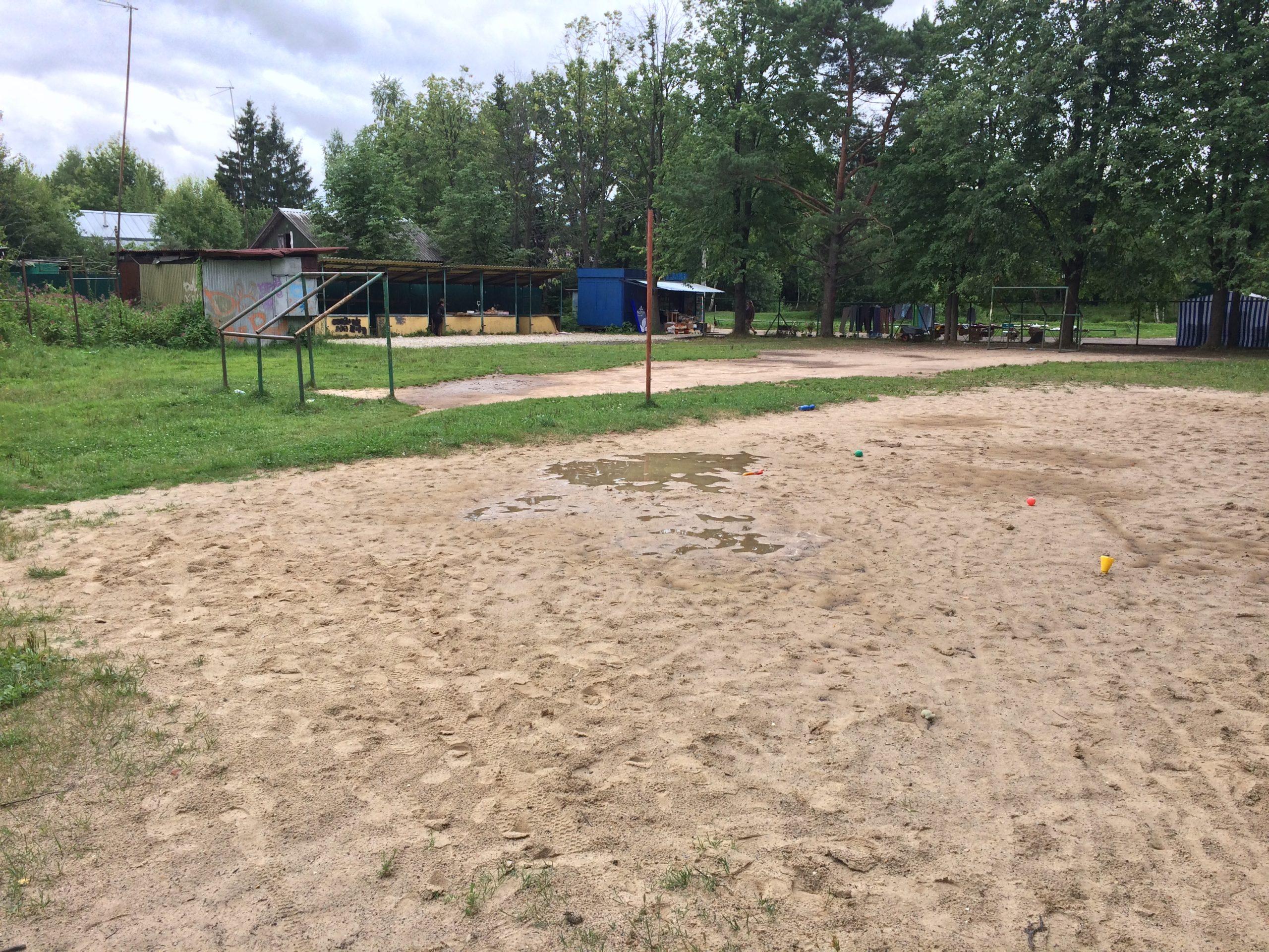 Спортивная площадка СНТ Мичуринец