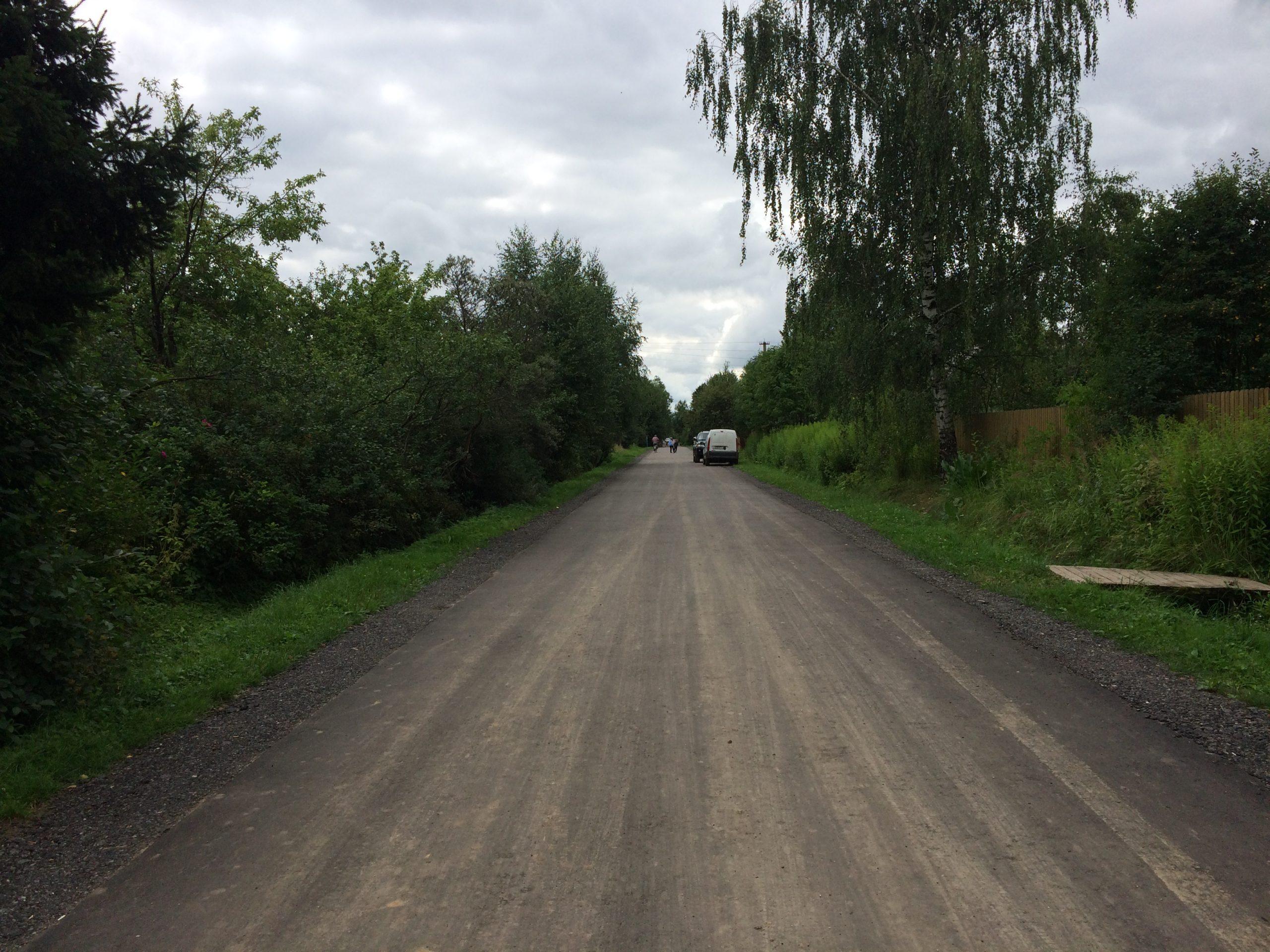 Центральная дорога со стороны 13 линии