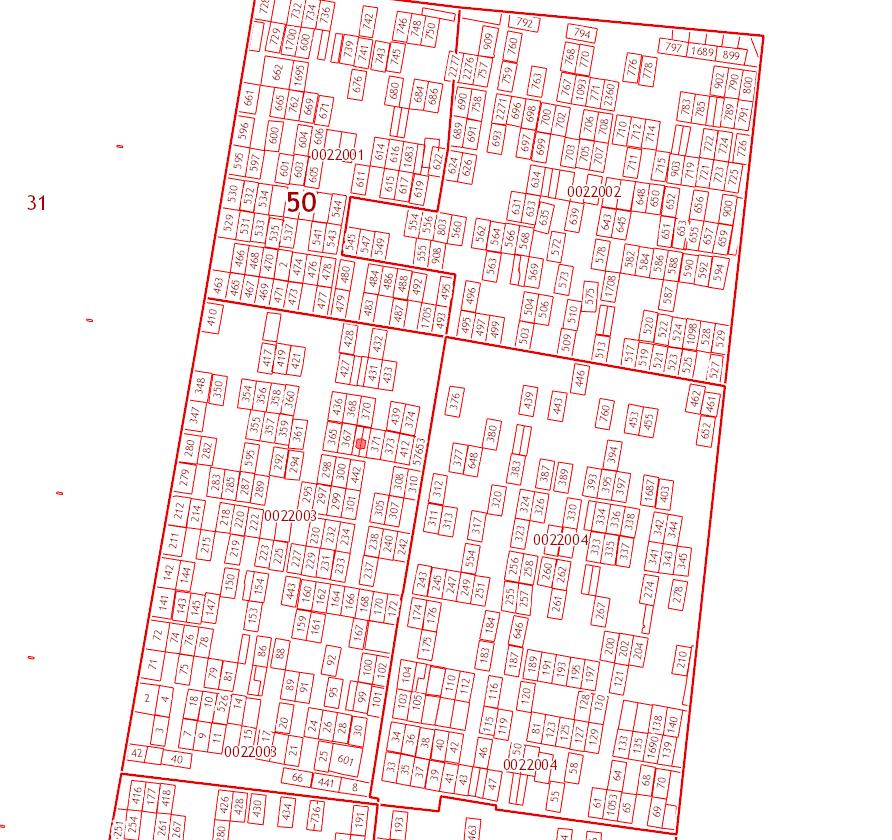 Публичная кадастровая карта СНТ Мичуринец