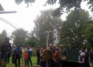 Общее собрание садоводов СНТ Мичуринец 13.08.2016 г. .На галерке