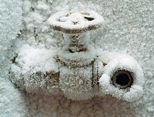 Зимний водопровод в СНТ