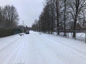 центральная линия у правления СНТ Мичуринец 2018