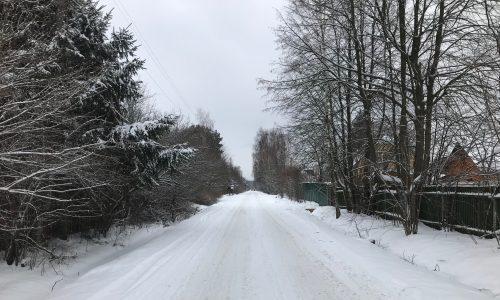 Зима в Чепелёво