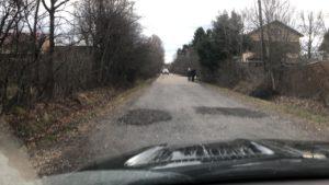 Гарантийный ямочный ремонт дороги СНТ Мичуринец