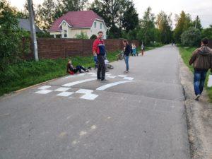 Лежащие полицейские СНТ Мичуринец Антон Новиков 2