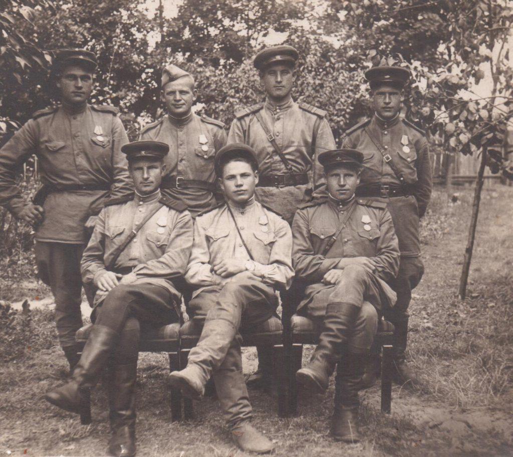 Воронин БП в дни войны 22.08.1944