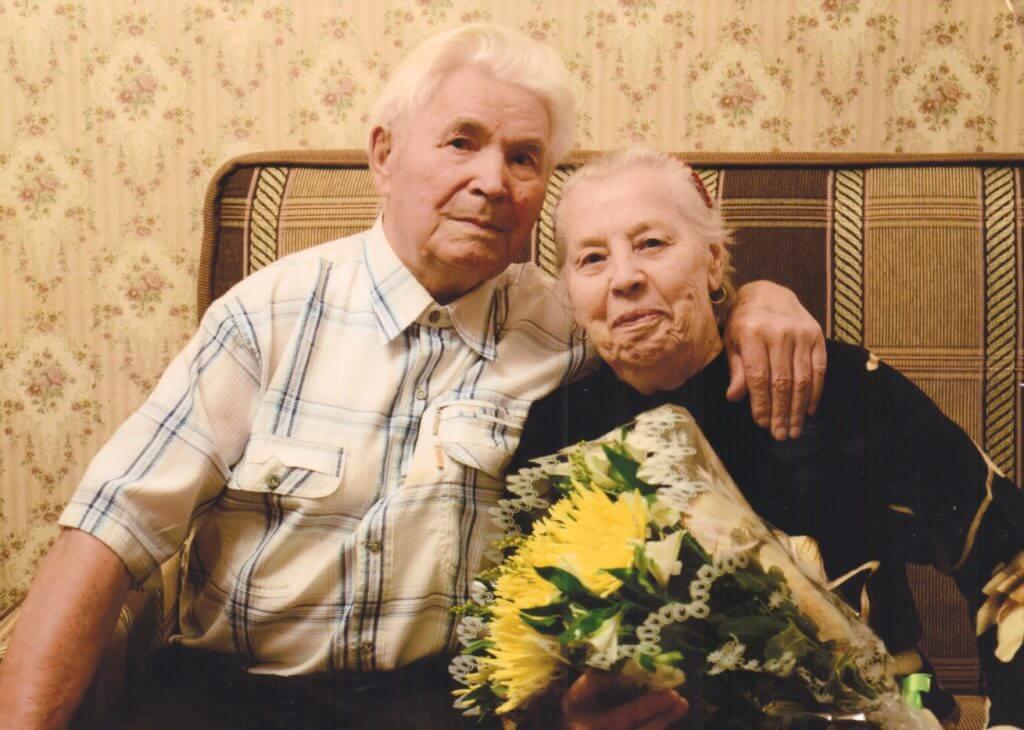 Воронин Борис Петрович с супругой