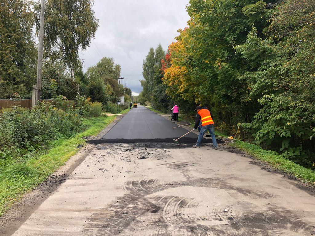 Выполнение ремонта дороги СНТ Мичуринец ВС ОВД